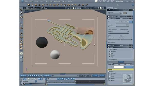 Rendering with Global Illumination, Caustics and Ambient Occlusion: Carrara 5 Essential Training