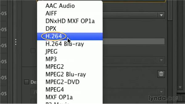 Media Encoder integration: Premiere Pro Guru: Working with Prelude