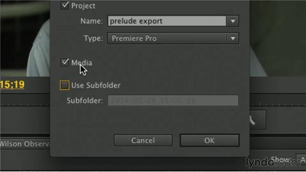 Export options: Premiere Pro Guru: Working with Prelude