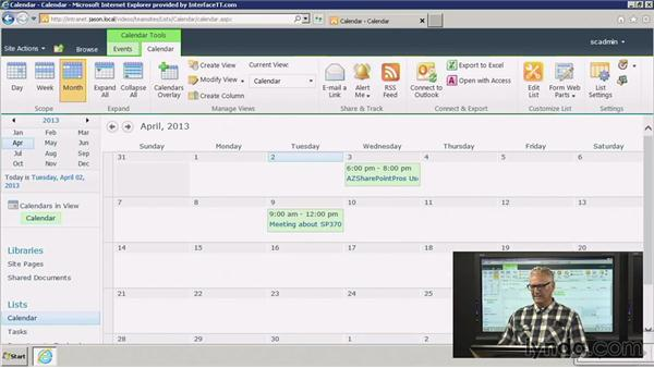 Creating and configuring a meeting workspace: SharePoint 2010: Foundation and Server