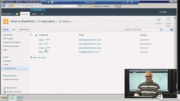 Site columns: SharePoint 2010: Foundation and Server
