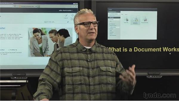 What is a document workspace?: SharePoint 2010: Foundation and Server