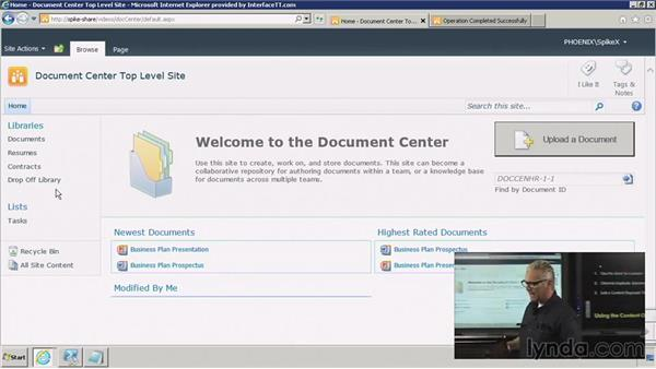 Using the Content Organizer: SharePoint 2010: Foundation and Server