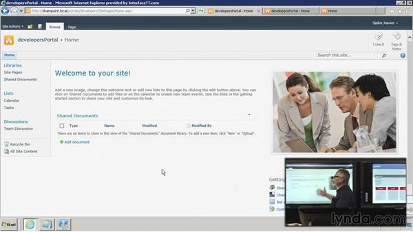 Implement: Connecting the site collections: SharePoint 2010: Foundation and Server