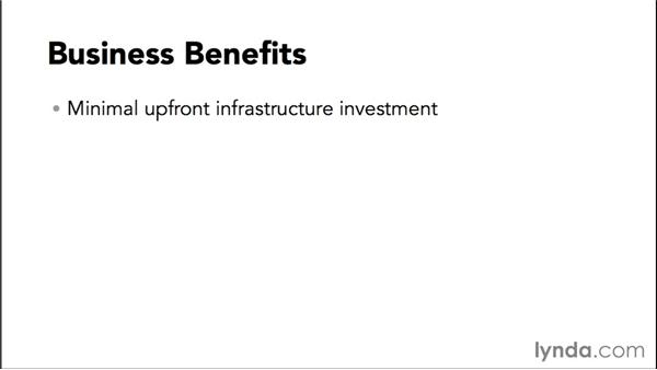 Business benefits: Amazon Web Services Essential Training