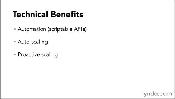 Technical benefits: Amazon Web Services Essential Training