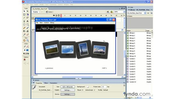 Flash 8 Filters and Blend Modes: Photoshop CS2 and Flash 8 Integration
