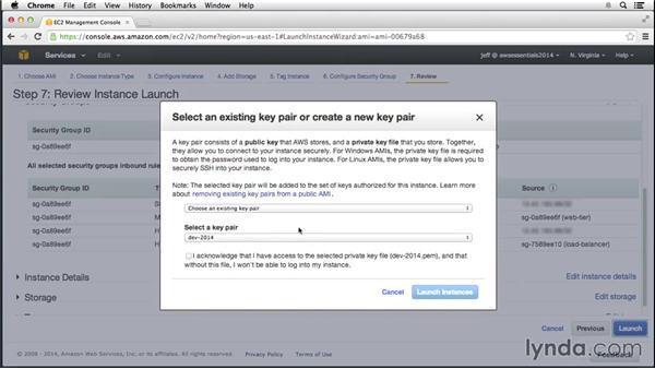 Creating a custom server image: Amazon Web Services Essential Training