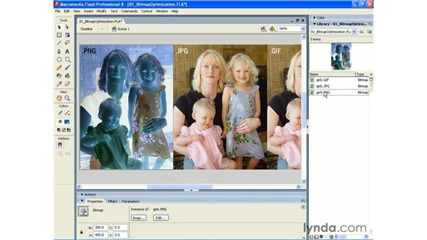 Updating a bitmap edited outside of Flash 8: Photoshop CS2 and Flash 8 Integration