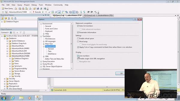Preparing to write SQL: Introduction to Transact-SQL