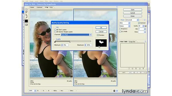 Channel-based optimization: Photoshop CS2 and Flash 8 Integration