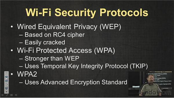 Wireless security: CompTIA A+ Exam Prep (220-801)
