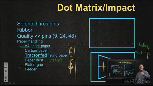 Dot-matrix and inkjet printers: CompTIA A+ Exam Prep (220-801)