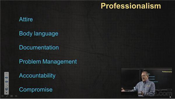 Professionalism: CompTIA A+ Exam Prep (220-801)