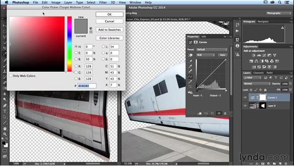 Understanding selections, masks, and alpha channels: Photoshop Artist in Action: Uli Staiger's Inner City Express
