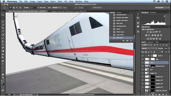 Building the loop: Photoshop Artist in Action: Uli Staiger's Inner City Express