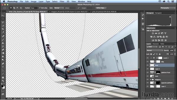 Building the back side of the loop: Photoshop Artist in Action: Uli Staiger's Inner City Express