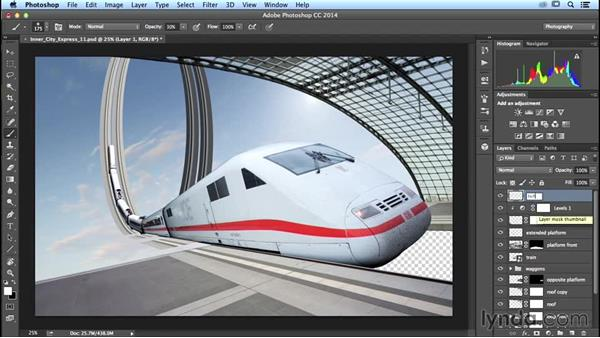 Painting in the light of the sun: Photoshop Artist in Action: Uli Staiger's Inner City Express