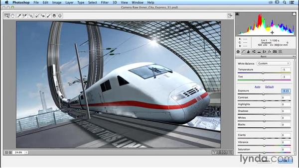Final details to finish the image: Photoshop Artist in Action: Uli Staiger's Inner City Express