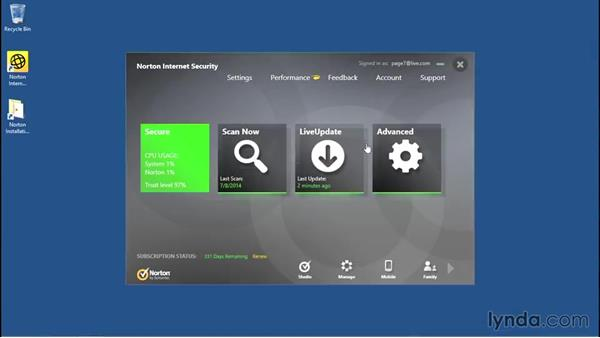 Welcome: Norton Internet Security Essential Training