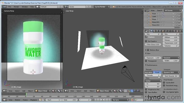 Rendering: Product Shots in Blender