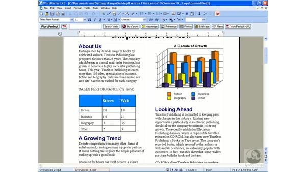 Editing and deleting styles: WordPerfect Office X3 Essential Training