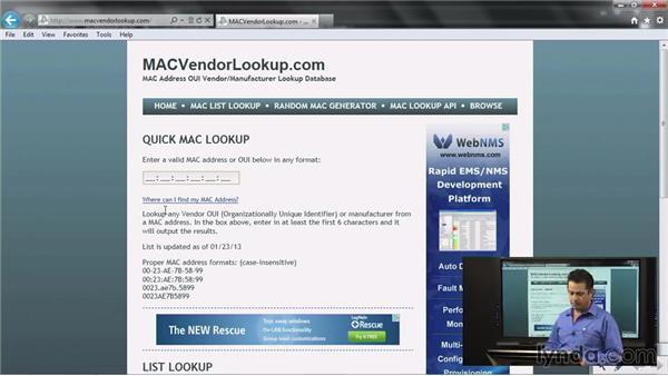 Understanding media access control (MAC) addresses