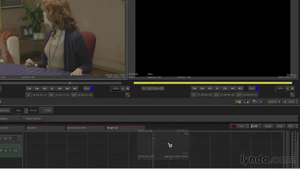 Drag-and-drop editing to the timeline: Smoke 2015 Essential Training