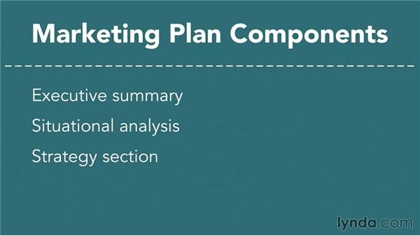 Creating The Marketing Plan