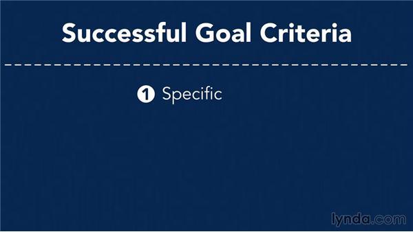 Setting goals: Marketing Fundamentals