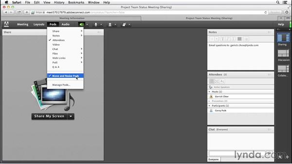 Setting up and managing the pods: Adobe Connect Essential Training