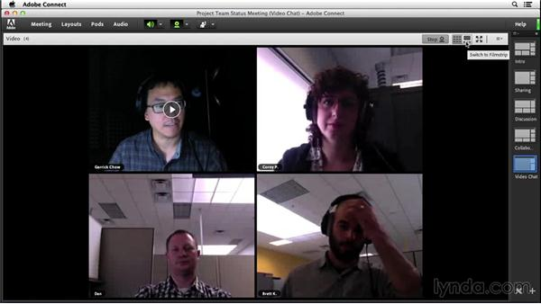 Video conferencing: Adobe Connect Essential Training