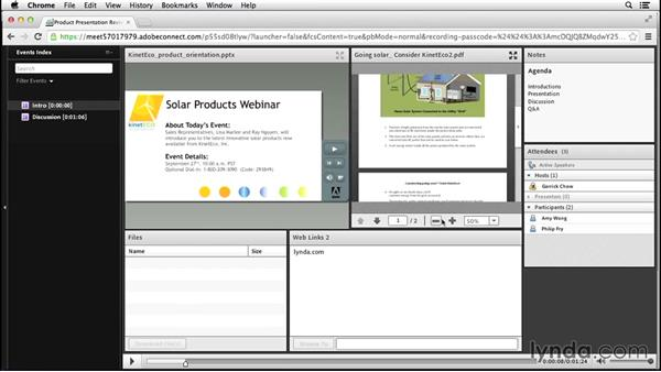 Recording and editing meetings: Adobe Connect Essential Training