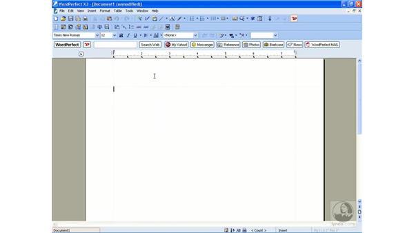 Using the legal toolbar: WordPerfect Office X3 Essential Training