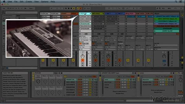 Ableton Live set layout: Performing with Ableton Live: On Stage with St. Vincent