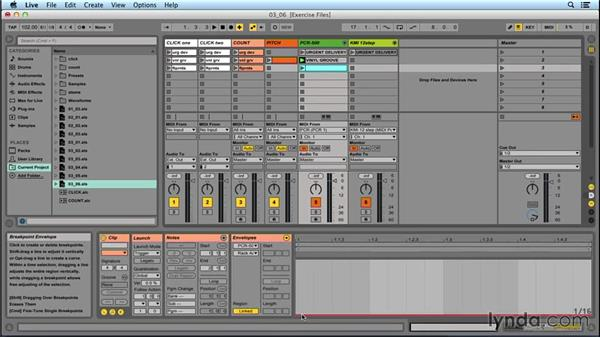 Automating presets at song start: Performing with Ableton Live: On Stage with St. Vincent
