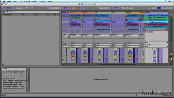 Set navigation: Performing with Ableton Live: On Stage with St. Vincent