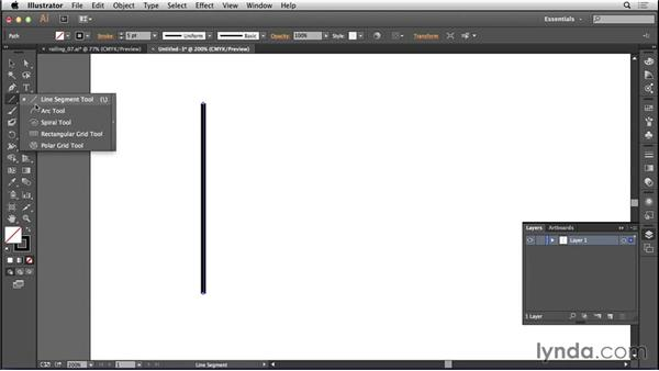 Creating railings in Illustrator: Bert Monroy: The Making of Amsterdam Mist, the Structures