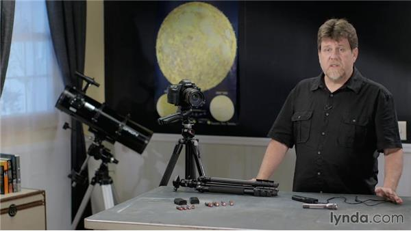 Other essential equipment: Photographing and Assembling a Lunar Eclipse Composite