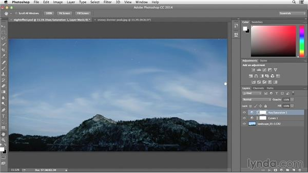 Adjusting tone and color for night: Photographing and Assembling a Lunar Eclipse Composite
