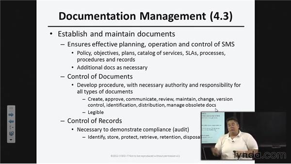 Service management system (SMS) general requirements: ISO20000