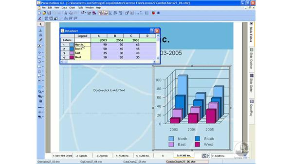Adding combinations: WordPerfect Office X3 Essential Training