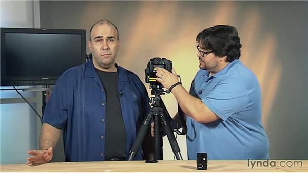 Menu options of the Panasonic GH4: Video Gear Weekly