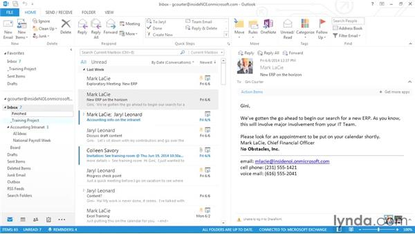 Using Quick Steps: Outlook 2013 Power Shortcuts