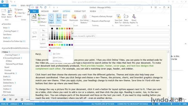 Three ways to create eye-catching emails: Outlook 2013 Power Shortcuts