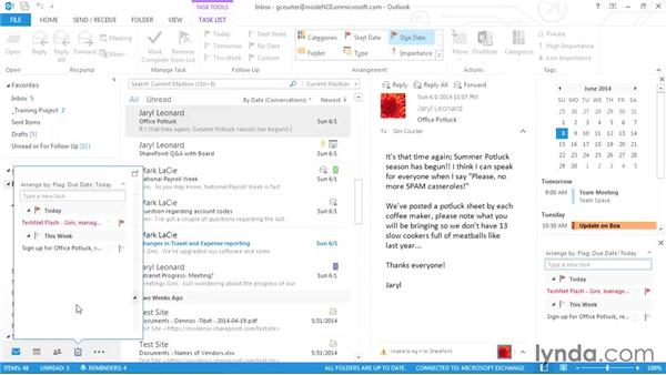 Seven ways to create a new task: Outlook 2013 Power Shortcuts