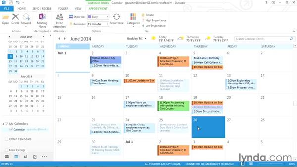 Cloning appointments: Outlook 2013 Power Shortcuts