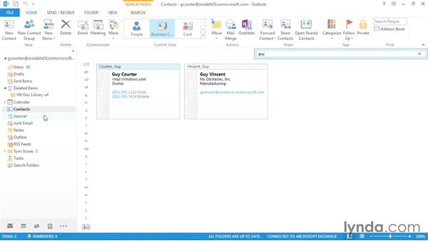 Making personal contacts private: Outlook 2013 Power Shortcuts