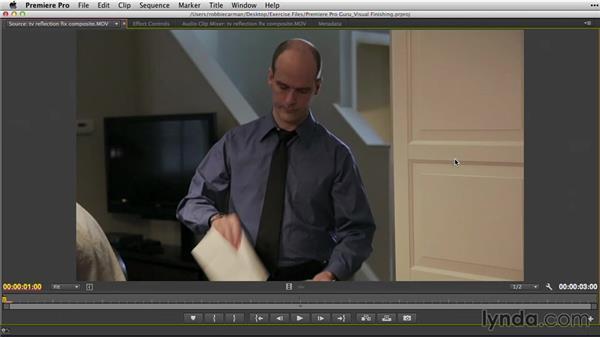 Replacing temp or stock shots: Premiere Pro Guru: Video Finishing Techniques