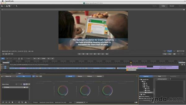 The Direct Link workflow with SpeedGrade: Premiere Pro Guru: Video Finishing Techniques